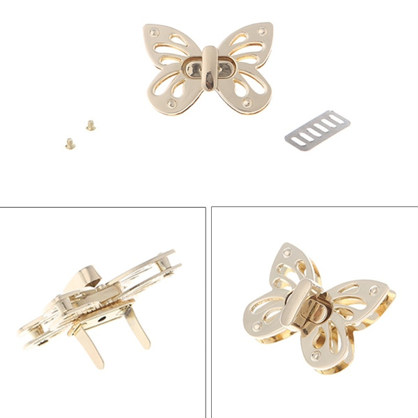 butterfly, Shoulder Bags, Metal, Parts & Accessories