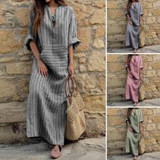 dressesforwomen, Necks, Sleeve, long dress