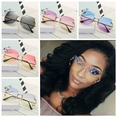 Fashion, transparentsunglasse, rimless eyeglasses, Glasses