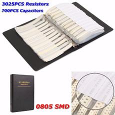 Passive Components, resistorassortmentkit, samplebook, gadget