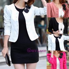 Plus Size, Blazer, Office, Coat