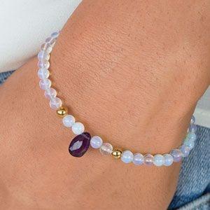 Beaded Bracelets, bohobracelet, hematitebracelet, Jewelry
