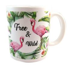 flamant, ceramique, flamingo, lestresorsdelily