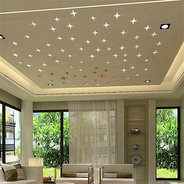 ceiling, Star, Jewelry, Wall