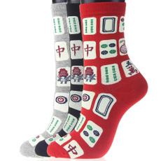 Funny, Cotton Socks, blacksock, Novelty