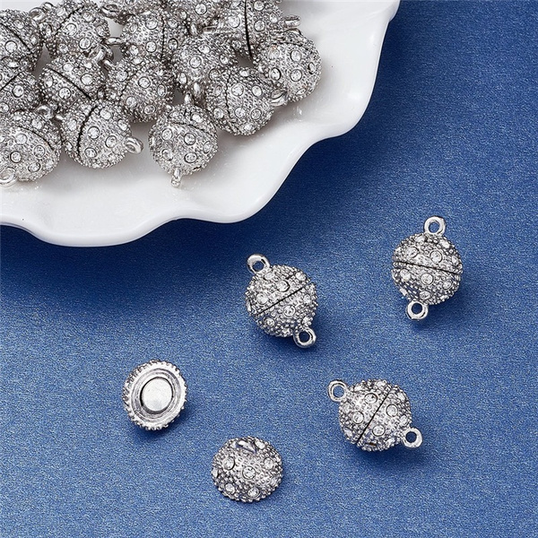 Jewelry Making, Magnetic, diycraft, Rhinestone