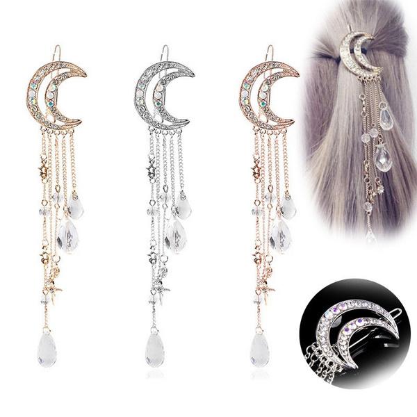 tasselhairpin, hairdecoration, hair jewelry, statement jewelry