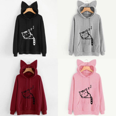 Women Sweatshirts, cute, Fashion, pullover sweater