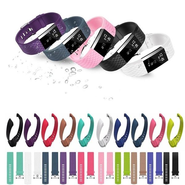 wristbandwatch, Jewelry, Sports & Outdoors, Silicone