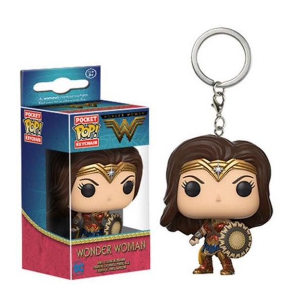 brown, keychainskeyring, Key Chain, Wonder Woman