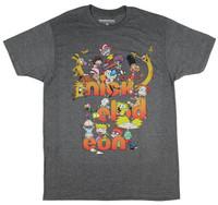 Nickelodeon Hey Arnold Graphic Men's T Shirt Summer Fashion