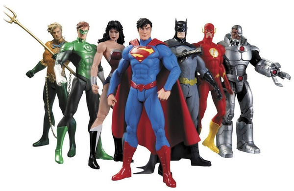Collectibles, Toy, justiceleague, Children's Toys