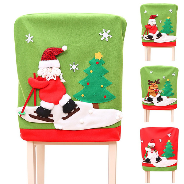 party, chaircover, Home Decor, christmaschaircover