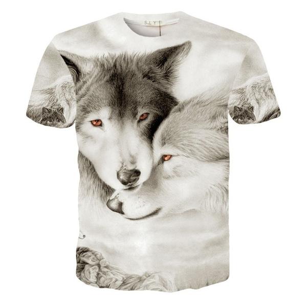 wolfprinttshirt, junior clothing, 3d sweatshirt, juniorstshirt