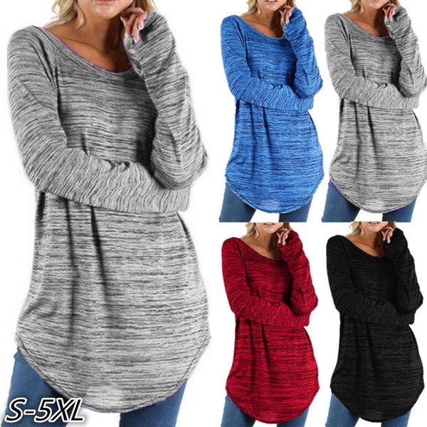 irregulartshirt, Blues, Plus Size, Shirt