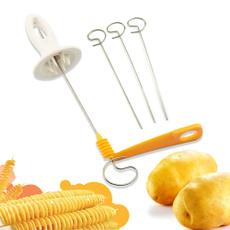 potatospiralcutter, Kitchen & Dining, potatotornadospiralvegetablecutter, potatotornadocutter