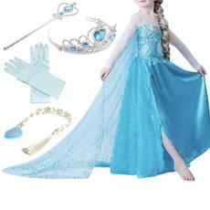 snowqueendre, elsa dress, Cosplay, Princess