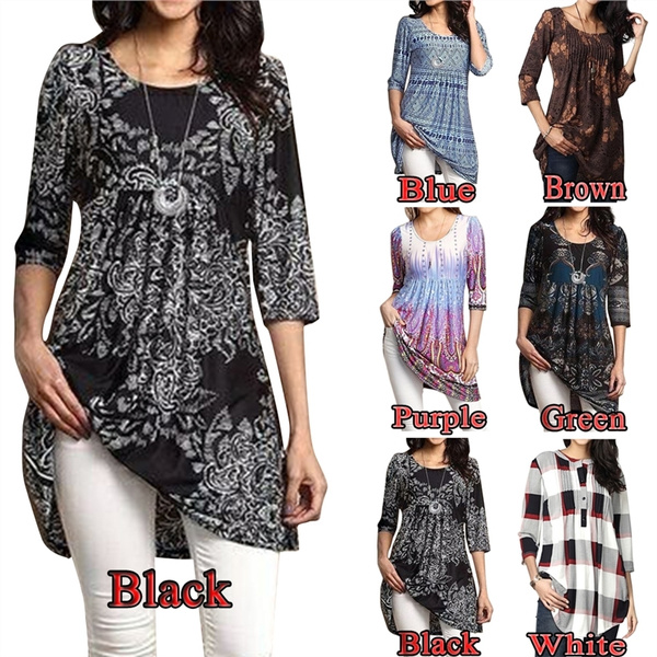 blouse, Plus Size, tunic, Waist