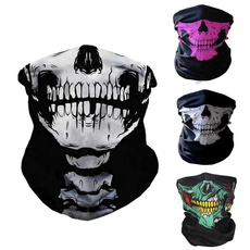 Helmet, Outdoor, skullhalfneckmask, sporthelmet