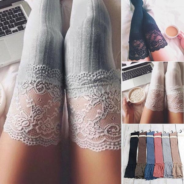 Lace, womens stockings, Leggings, womensock