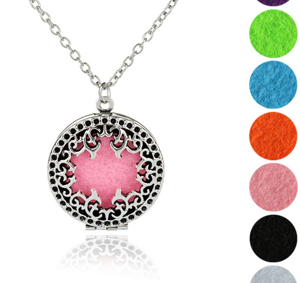 Copper, essentialoildiffuser, Jewelry, Hollow-out