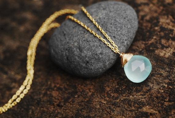 Jewelry, loveheartcrosspendantset, aquachalcedonynecklace, aqua