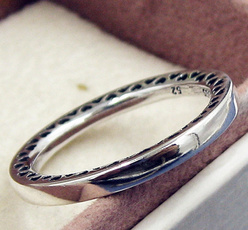 Sterling, Heart, Jewelry, Classics