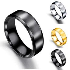Steel, men_rings, titaniumsteelringsformen, Women Ring