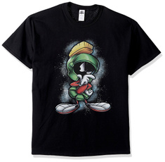 Round Collar, short sleeves, Pullovers, marvinthemartian