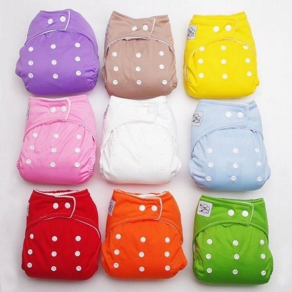 washable, Infant, Adjustable, Cloth