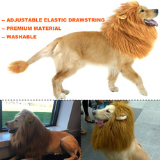 wig, doglionmanewig, Tail, dogscarf