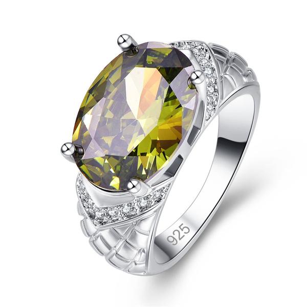 Fashion, Jewelry, Silver Ring, Gemstone