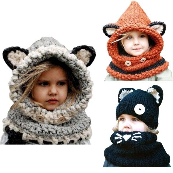 Baby, cute, kids scarf, Winter