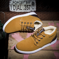 Flats, cottonpaddedshoe, Outdoor, Flats shoes