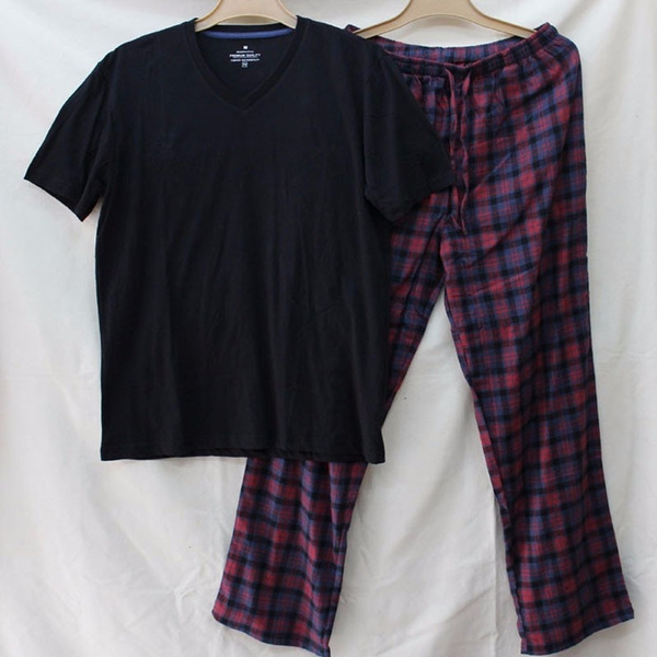 summernewmale, plaid, thinsection, malepajama