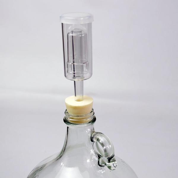 Air Lock 3 piece Fermentor Airlock for Homebrew Beer /& Wine Making