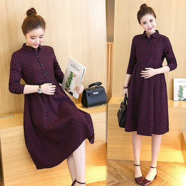 Fashion, midcalfdres, Dress, maternityclothing
