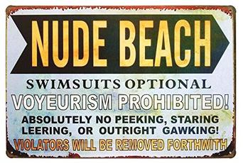 Vintage, nude, Metal, Swimsuit
