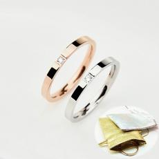 Steel, ringsformen, Fashion, zirconring