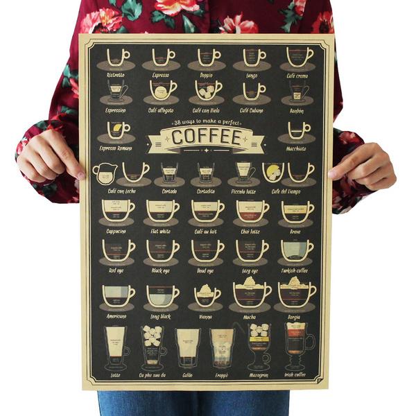 Decorative, Coffee, Fashion, art