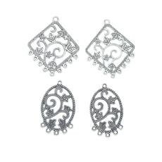 Connector, Jewelry, Earring, linker