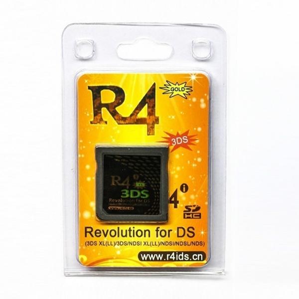 nintendo3dsaccessorie, r4igoldcard, usb, gold