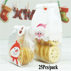 plasticbag, cute, Christmas, foodpackingbag