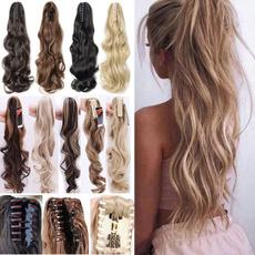 Moda, pony, Tail, ponytailhairpiece
