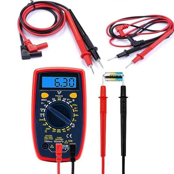 Wire, digitalmultimeter, Tool, probe