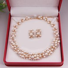 goldplated, pearljewerly, Bridal, Jewelry