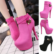 ankle boots, Fashion, Leather Boots, Womens Shoes