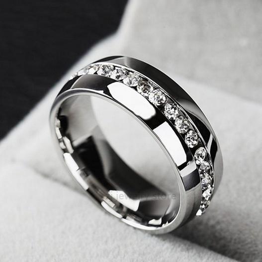 Steel, goldplated, DIAMOND, 925 sterling silver