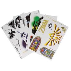unisex, Stickers, Zelda, Multicolored