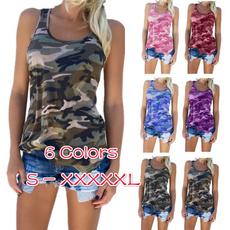 Women, Fashion, Tank, Shirt